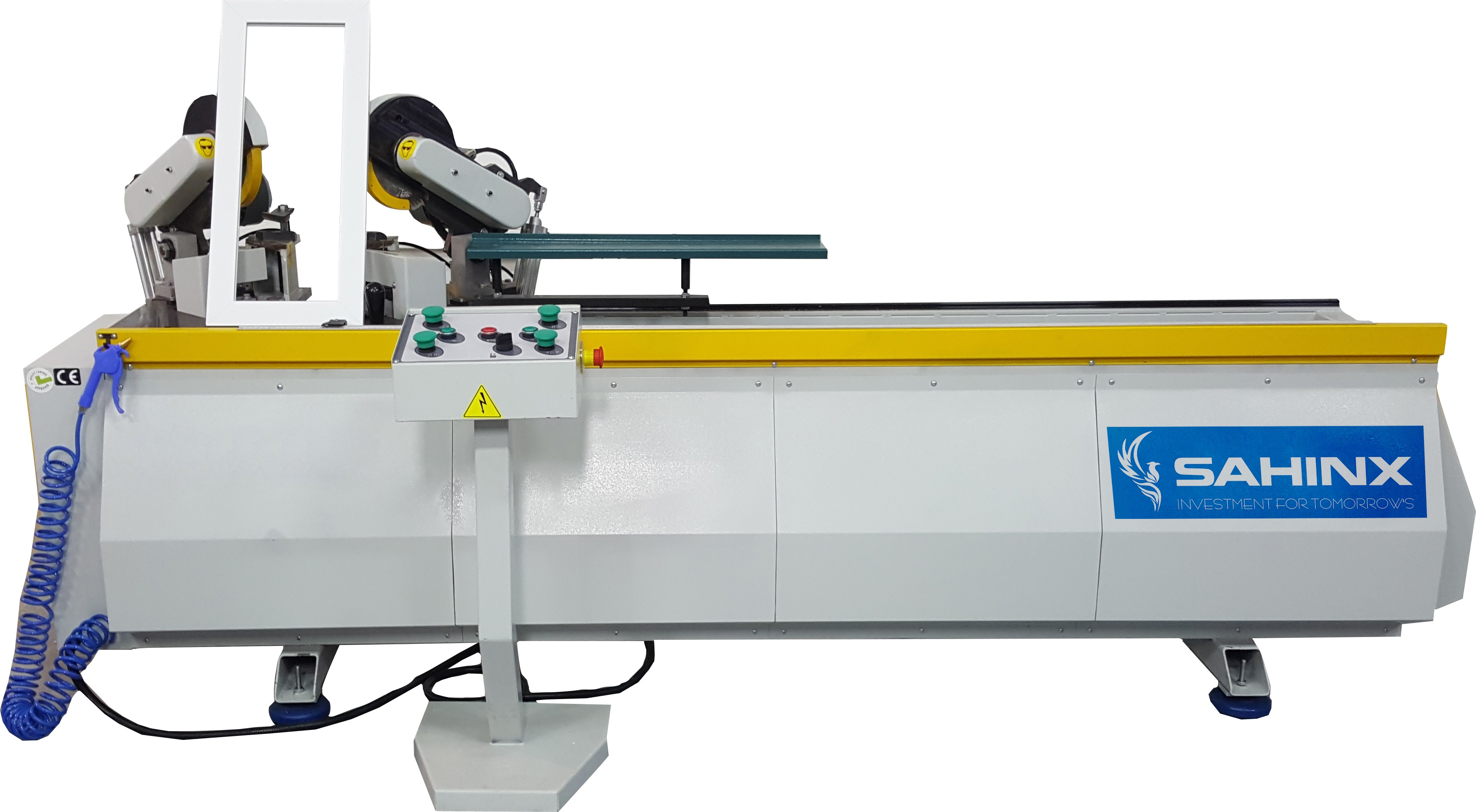 WDE 200 DOUBLE MITER CUTTING & MORTISE