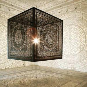 chandelier laser cutting interior design sahinx